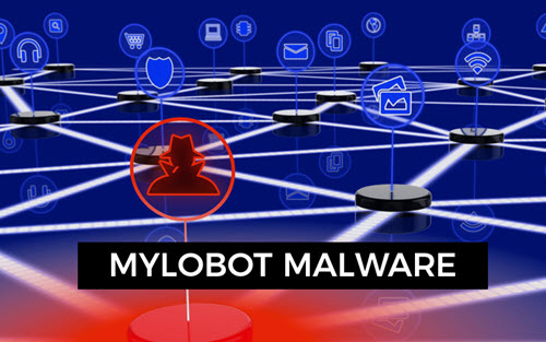 Takian.ir Mylobot Malware Featured