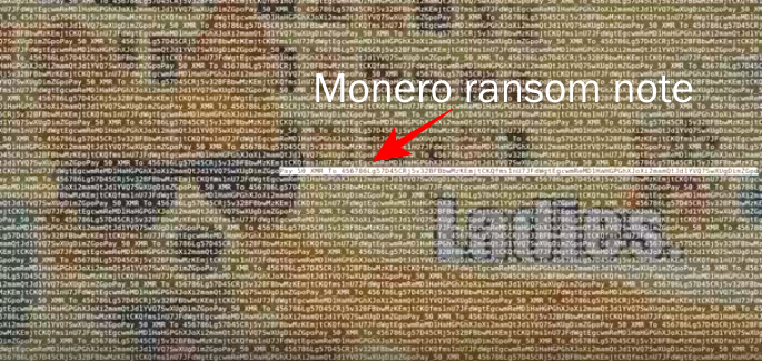 Takian.ir ddos attacks now launched with monero ransom notes